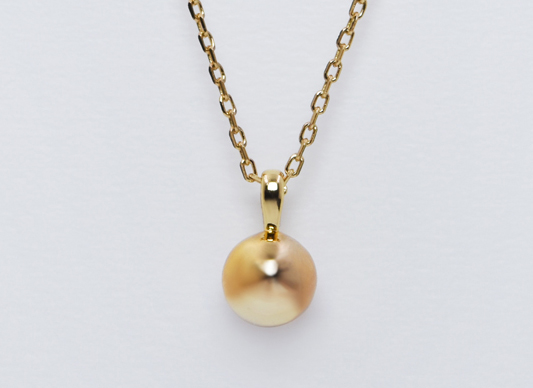 Ball Design Necklace (Gold)