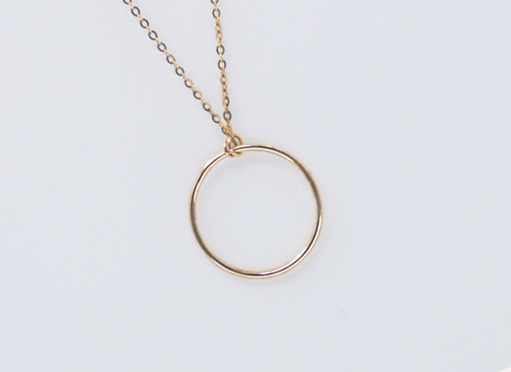 Lucky ring necklace