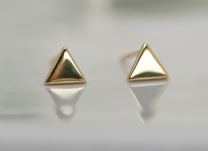 Simple golden triangle~